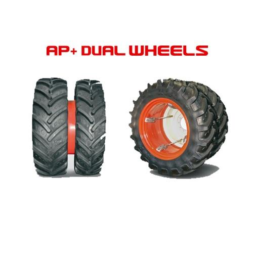 AP+ DualWheels paripyörät, levikepyörät