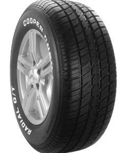 Renkaassa valkoiset tekstit, Cooper Cobra GT RWL