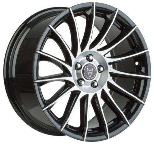 Wolfrace Aero black polished