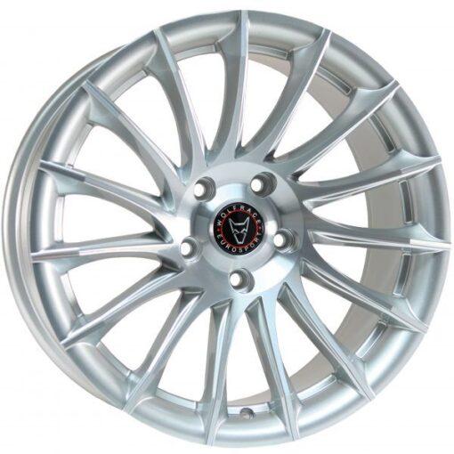 Wolfrace Aero silver polished
