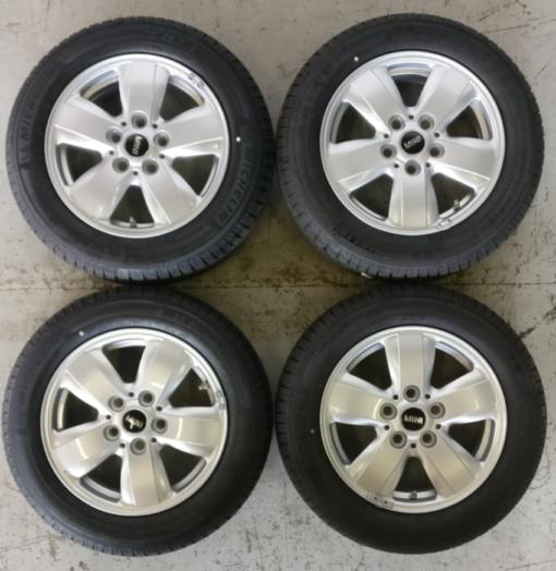 Muokattu Mini 5,5×15 5×112 kr66,6 et46 175-65-15
