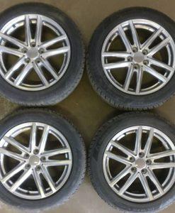 Rial X10 metal grey ja Matador 235/50-18