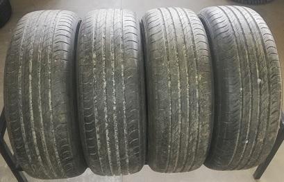 235/60-18 Dunlop Sport Maxx käytetyt kesärenkaat